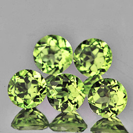 4.20 mm 5 pcs Round AAA Color Change Turkish Diaspore Natural {Flawless-VVS1}
