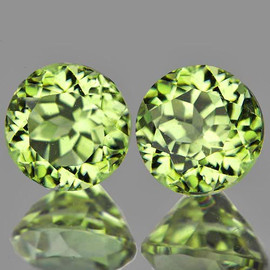 4.50 mm 2 pcs Round AAA Color Change Turkish Diaspore Natural {Flawless-VVS1}