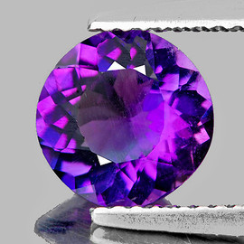 8.50 mm Round Best AAA Fire Intense AAA Purple Amethyst Natural {Flawless-VVS1}