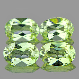 6x4mm 4 pcs Oval AAA Color Change Turkish Diaspore Natural {Flawless-VVS1}