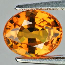 8x6 mm Oval AAA Fire Madeira Golden Citrine Natural (Flawless-VVS}--AAA Grade