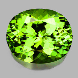 1.16 cts Oval 7x6 mm AAA Fire AAA Premium Green Demantoid Natural (VVS)--FREE CERTIFICATE