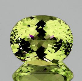 9x7 mm {1.37 cts} Oval Brilliant Cut Best AAA Fire Green Gold Lemon Quartz Natural {Flawless-VVS}
