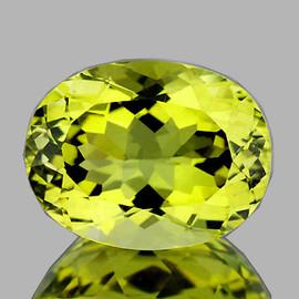 9x7 mm {1.79 cts} Oval Brilliant Cut Best AAA Fire Top Green Gold Lemon Quartz Natural {Flawless-VVS}