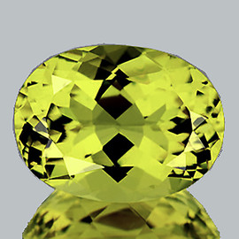 9.5x7 mm {2.24 cts} Oval Brilliant Cut Best AAA Fire Top Green Gold Lemon Quartz Natural {Flawless-VVS}