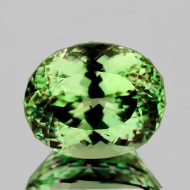8x7 mm Oval {2.15 cts} AAA Fire Intense Vivid Green Tourmaline Natural Mozambique {Flawless-VVS}--AAA Grade