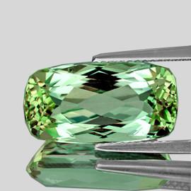 12.5x6mm Rectangle { 3.13 cts} AAA Fire Vivid Green Tourmaline Natural {VVS}--AAA Grade