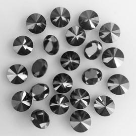 1.60 mm 12 pcs Round Diamond Cut Natural Black Diamond