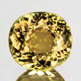 9x7 mm { 2.51 cts} Oval Best AAA Fire Intense Yellow Tourmaline Mozambique Natural {VVS}--AAA Grade