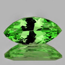 8x4 mm 1 pcs Marquise AAA Fire Chrome Green Tsavorite Garnet Natural {Flawless-VVS}