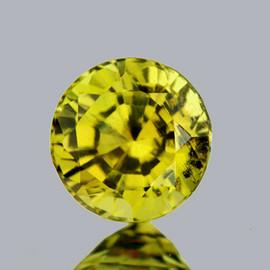 5.30 mm Round AAA Fire AAA Vivid Yellow Mali Garnet Natural {VVS-VS}