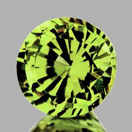5.30 mm Round AAA Fire AAA Green Yellow Mali Garnet Natural {Flawless-VVS}--AAA Grade