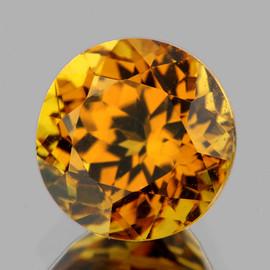 5.00 mm { 0.73 cts} Round AAA Fire AAA Golden Yellow Mali Garnet Natural {Flawless-VVS}--AAA Grade