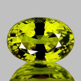 7.5x5.5 mm {1.40 cts} Oval AAA Fire Best AAA Vivid Yellow Mali Garnet Natural {Flawless-VVS}--AAA Grade