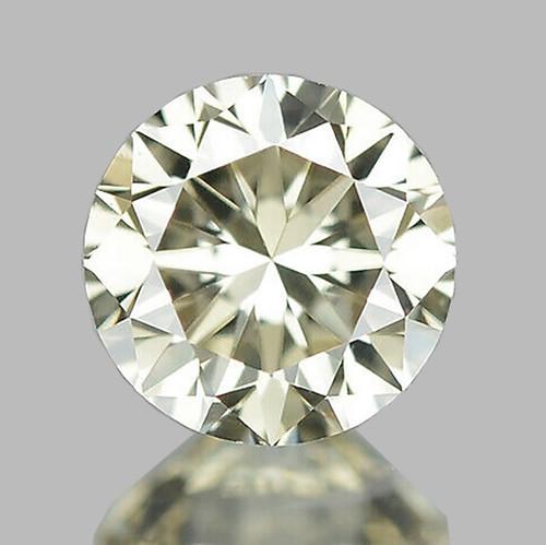 3.70 mm Round {0.18 cts} Brilliant Cut Color H-I White Diamond Natural {VVS } AAA Grade