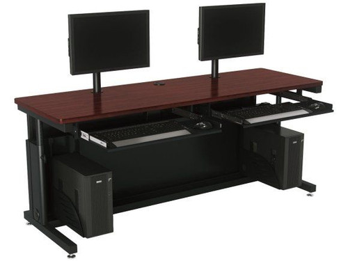 Deluxe Height Adjustable Computer Table