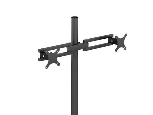 Pole Mount Dual Spider Monitor Arm