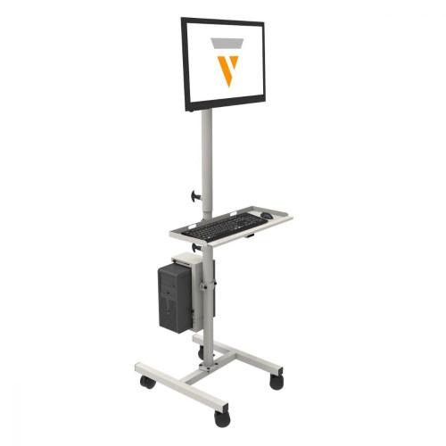 Flat Screen Computer Cart
