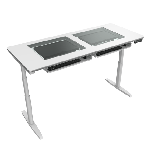 Downview Electric Computer Table