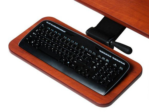Deluxe Pivoting Keyboard Arm and Tray