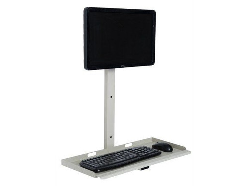 Basic Wall Mount Computer Station