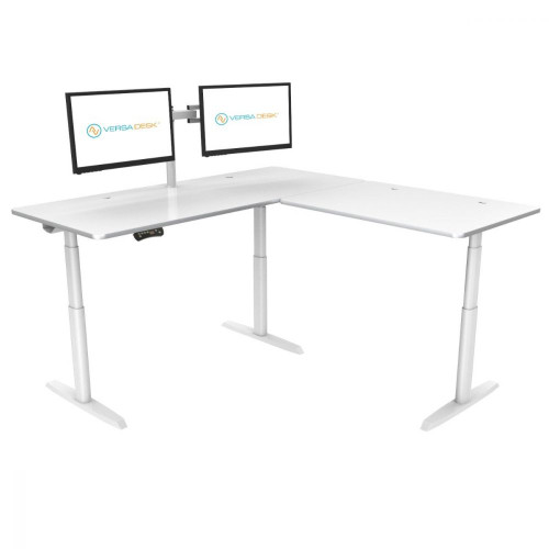 PowerLift® L-Shaped Standing Desk
