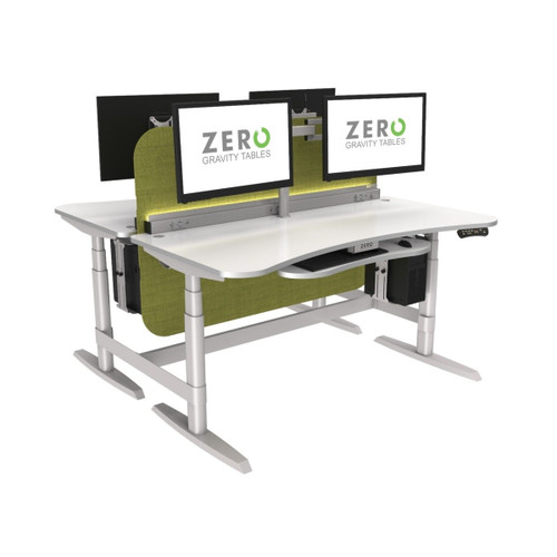 PowerLift® Standing Desk Double Benching System