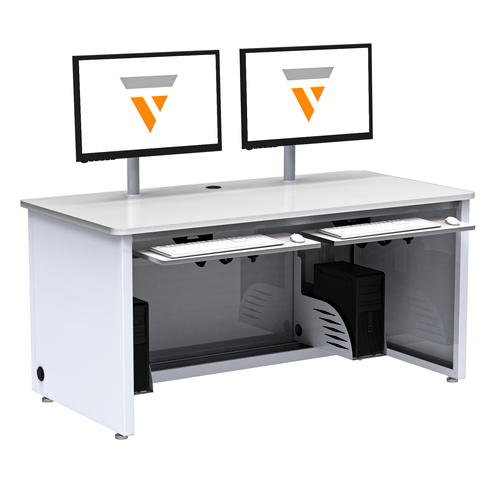 Enclosed Versa Classroom Desk