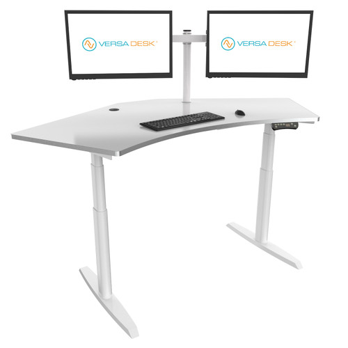 PowerLift Standing Trio Desk