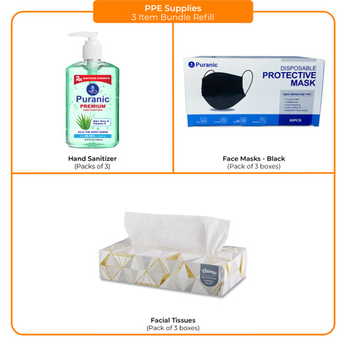 PPE 3 Item Bundle Refill