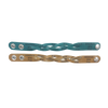 Turquoise and Buckskin