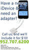 Apple 30-pin to Lightning Adapter iPhone 5 6 iPad iPod