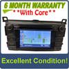 2013 - 2015 Toyota Rav4 JBL OEM AM FM Bluetooth Radio Media Receiver 100074 WITH EXTENSION BOX