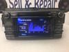 2013 2014 2015 Toyota Rav4 OEM AM FM Entune Touch Screen Bluetooth Unit 100072 Broken Tab