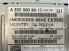 (Merged with Be207U) 2015 - 2017 Mercedes-Benz C300 OEM AM FM CD Player Receiver