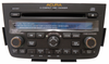 New 2005 2006 Acura MDX Radio DVD Player 6 CD Changer Stereo 1XF9 Blemished