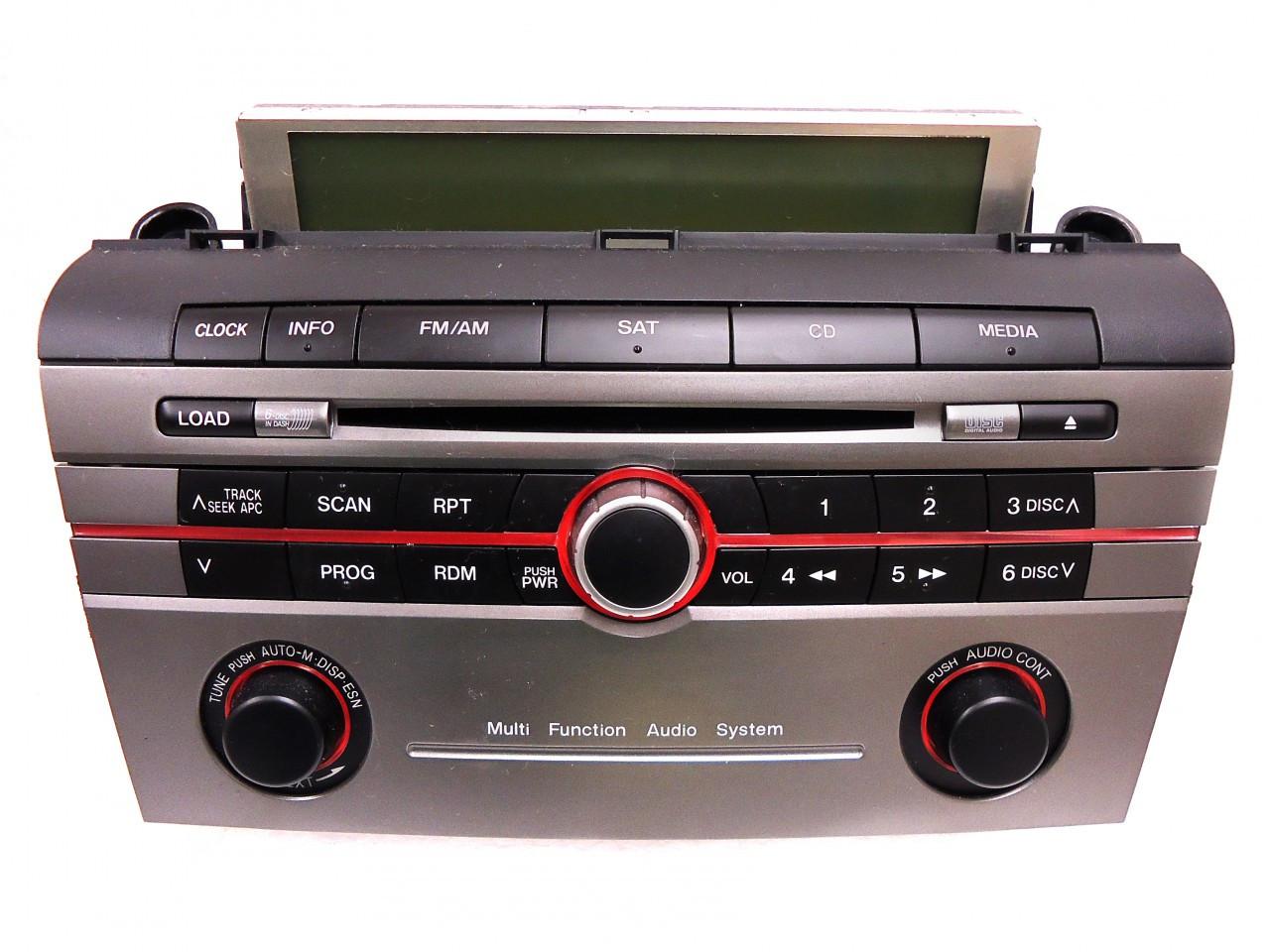 mazda 3 2005 audio system