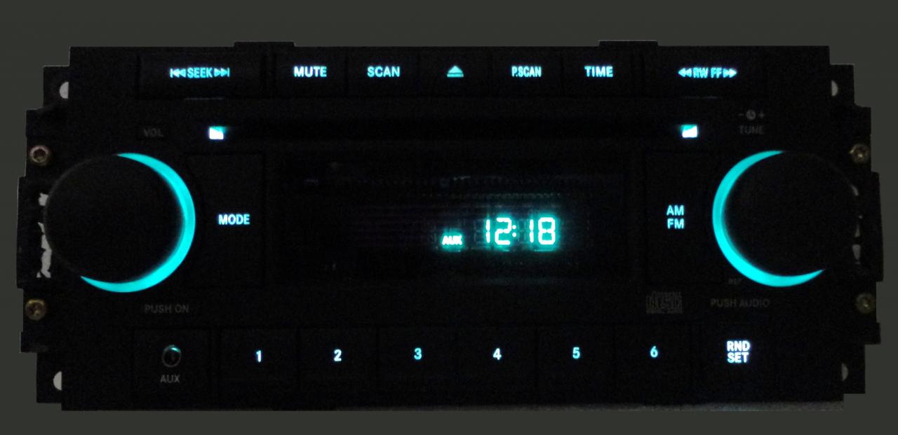 2005 - 2008 Chrysler Jeep Dodge OEM Radio Aux CD Player Receiver