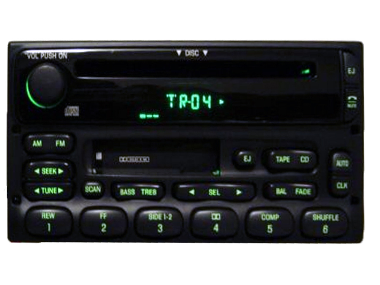 1998 - 2005 Ford / Lincoln Mercury Radio CD player CD4Car
