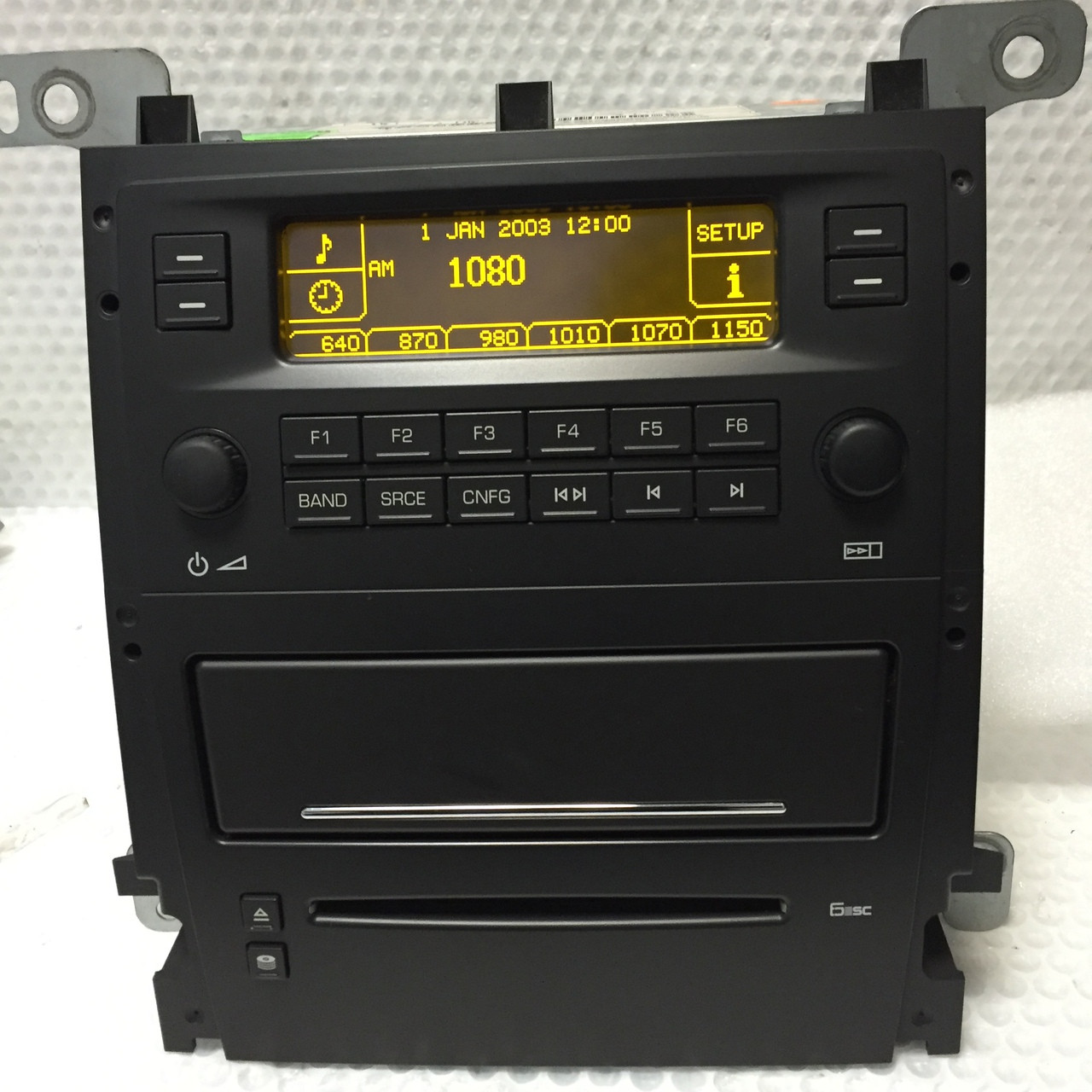 CADILLAC STS Radio Stereo 6 Disc Changer CD Player OEM