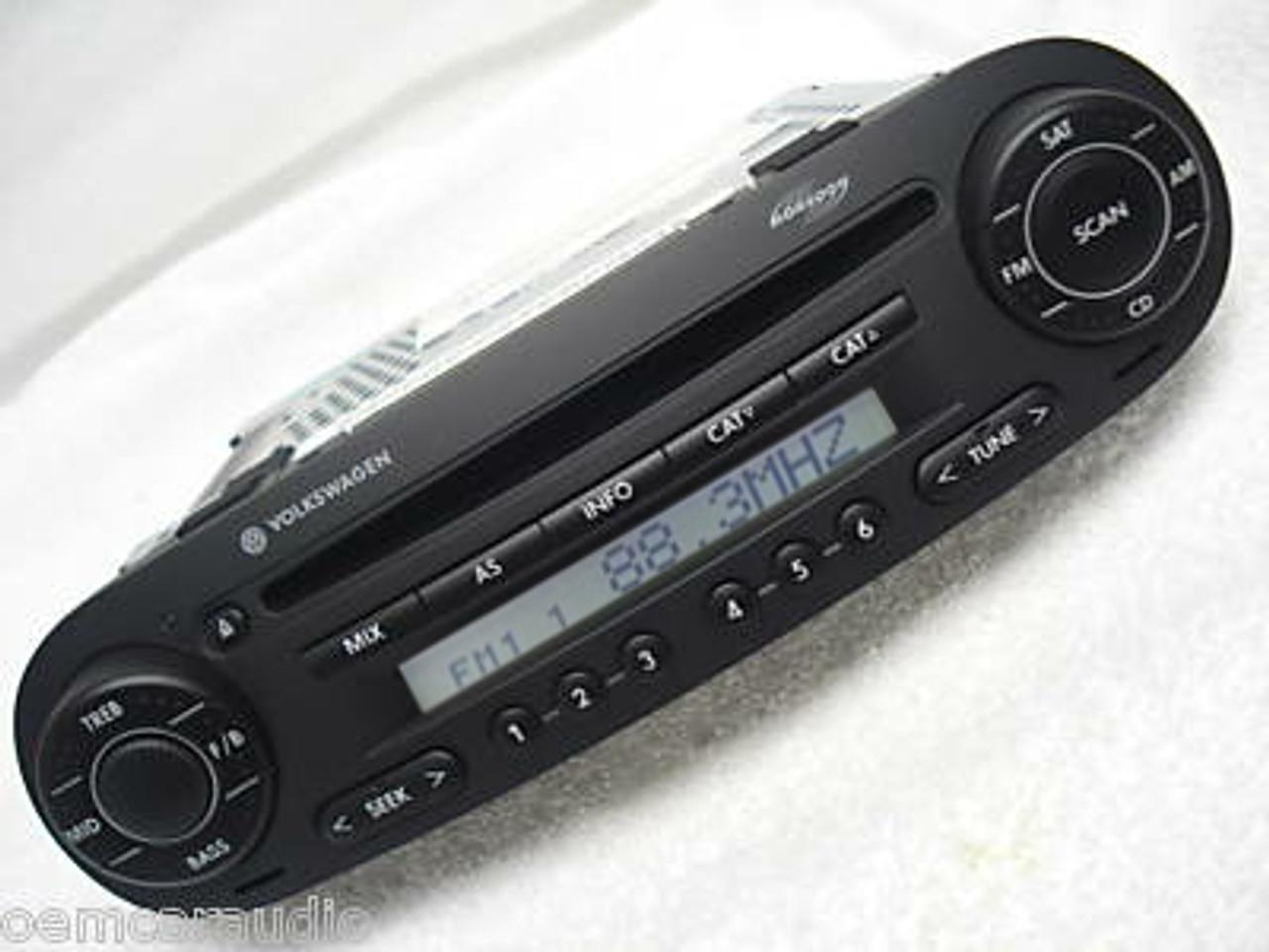 98 01 05 10 Volkswagen Beetle Cd Player Am Fm Radio Stereo