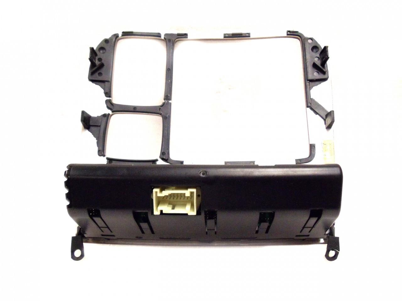 MERCEDES-BENZ S-CLASS CL-CLASS AC TEMP CLIMATE CONTROLS DASH BEZEL S430  S500 S600 S55 CL500 CL600 CL55 2000 2001 2002