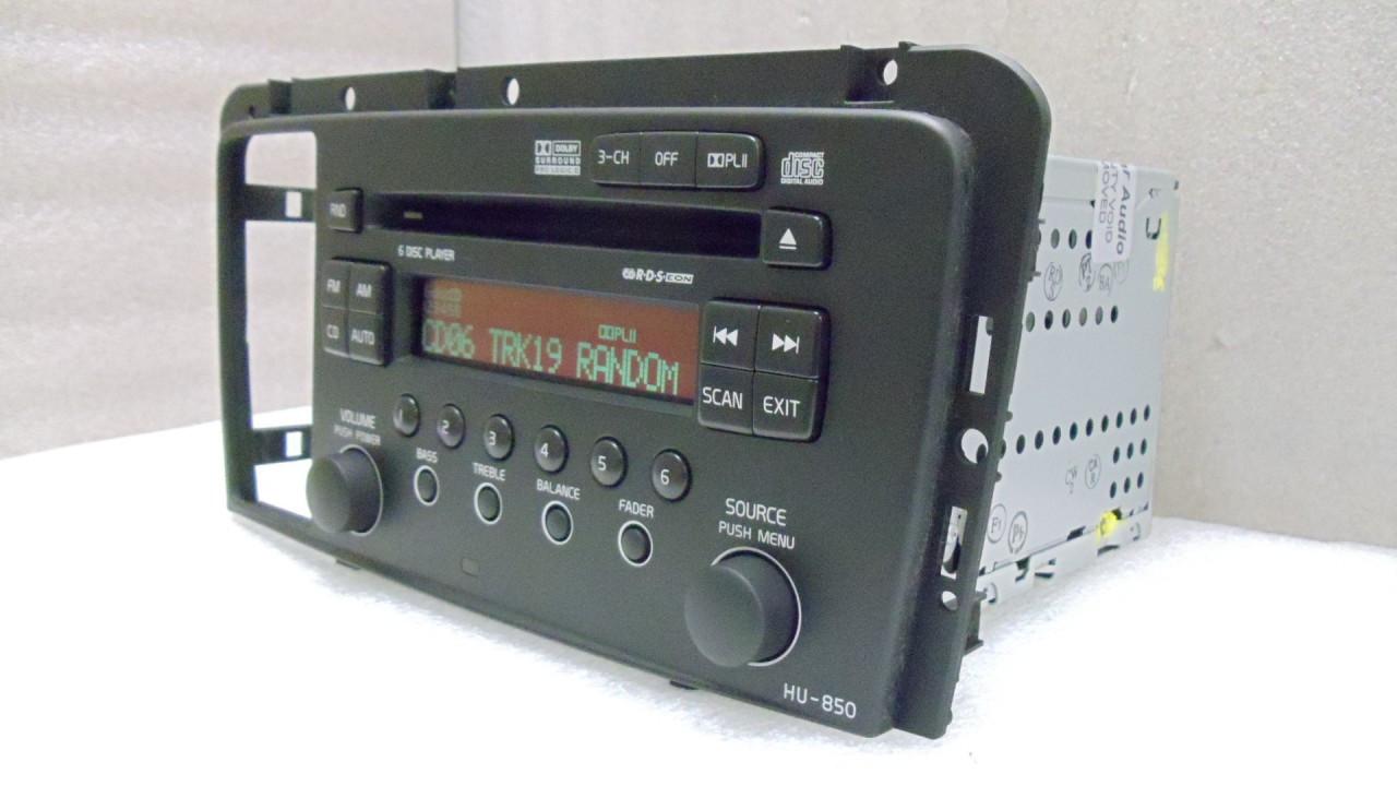 Hu850 05 08 Volvo S60 V70 S80 Xc70 6 Disc Changer Cd Player