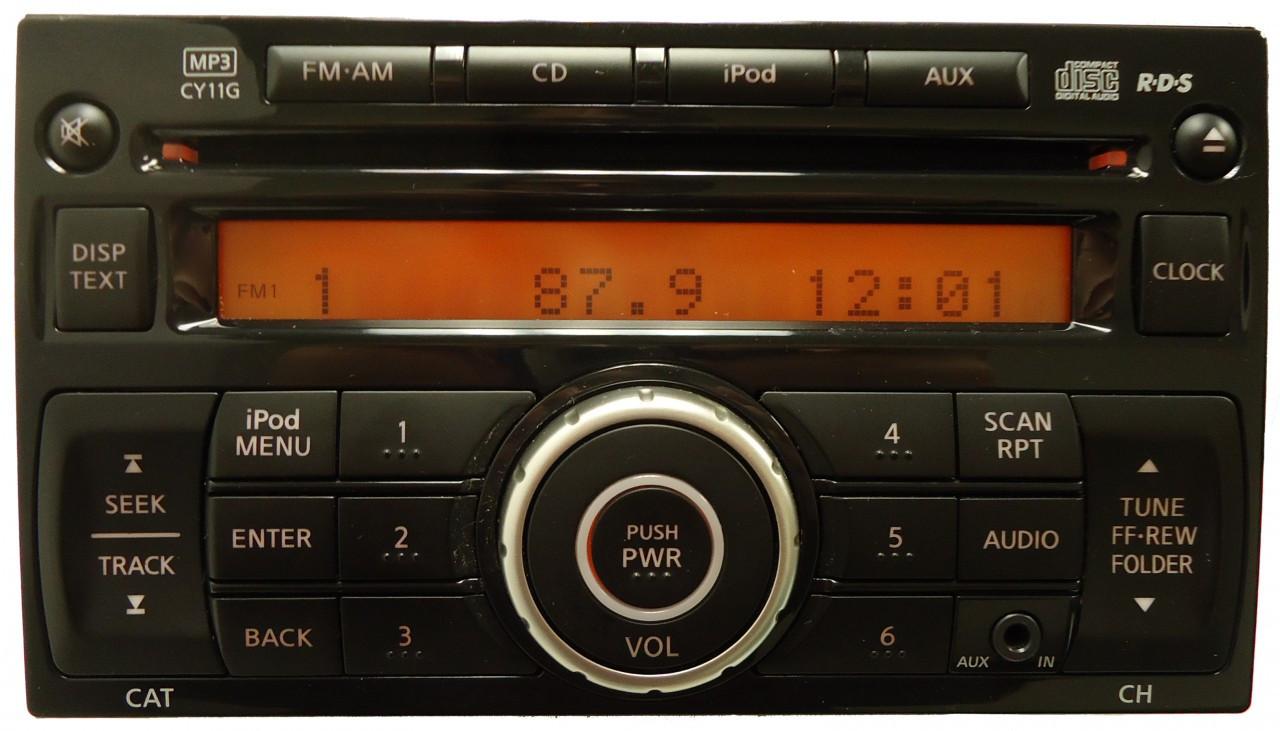 2011 2012 NISSAN Juke Radio MP3 CD Player AUX