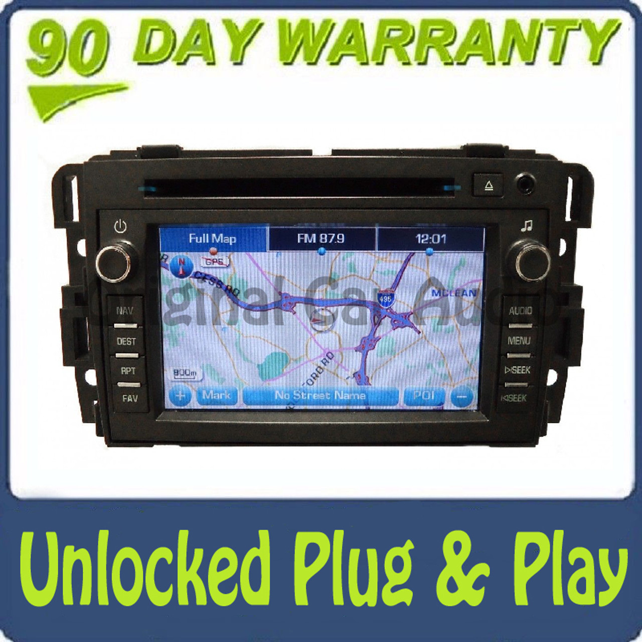 08 09 2010 2011 2012 Buick Enclave Navigation Radio Cd Playerrhcd4car: Buick Navigation System With Audio At Gmaili.net