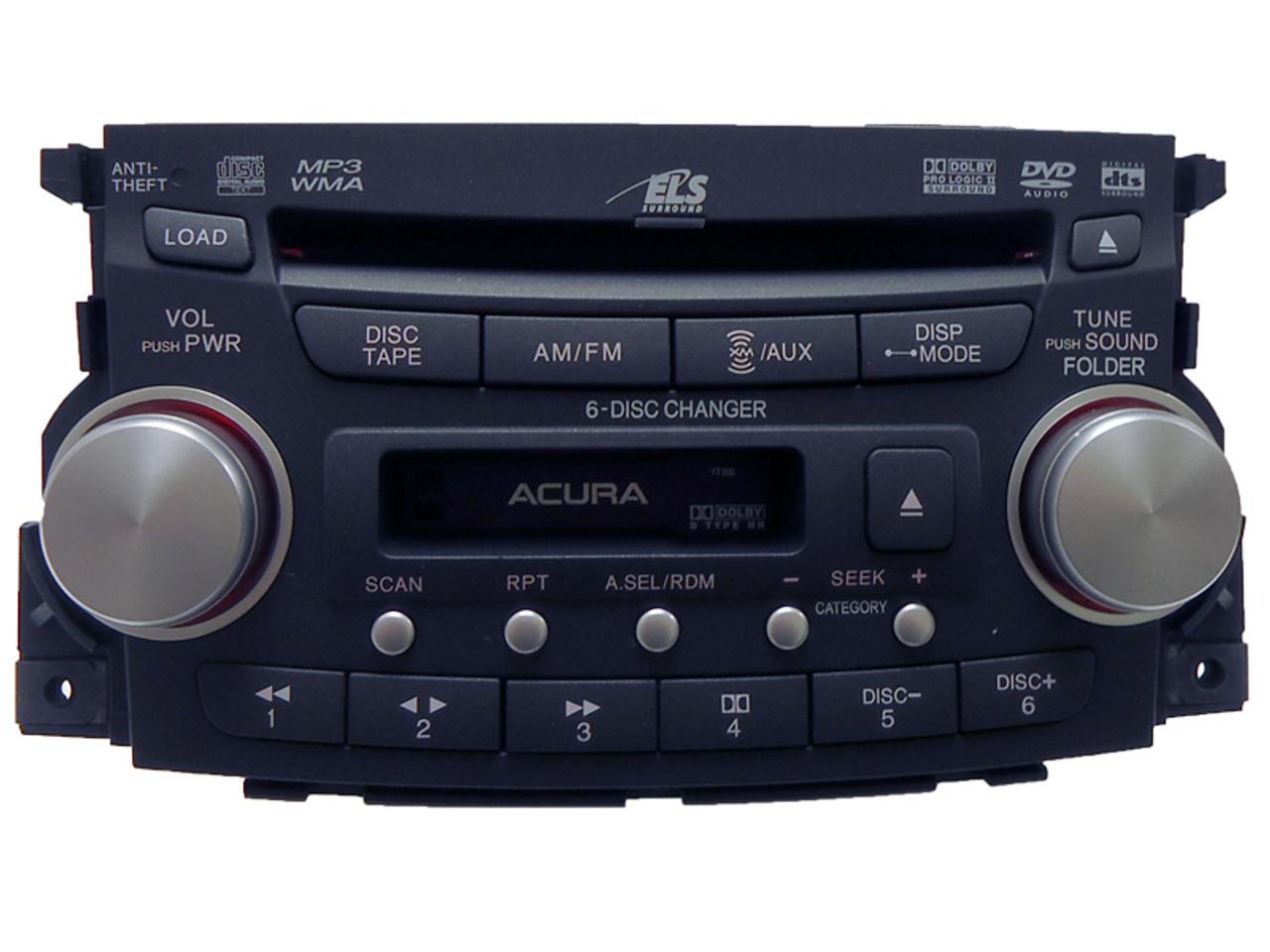 2007 2008 Acura Tl Xm Navigation Stereo 6 Cd Mp3 Tape Playerrhcd4car: 2007 Acura Xm Radio At Gmaili.net