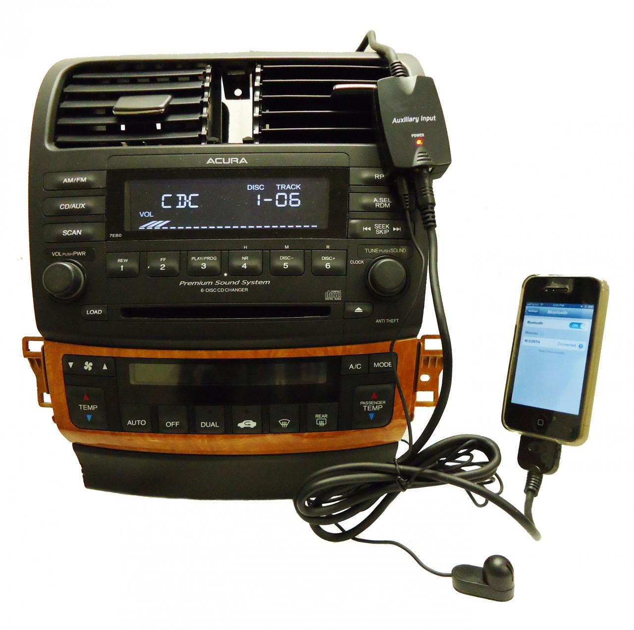 1998 99 2000 01 02 2012 Honda Acura Bluetooth IPod Adapter
