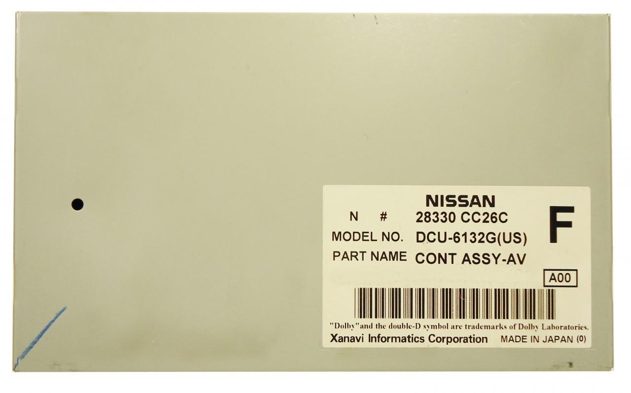 NISSAN Murano Armada Quest INFINITI QX56 FX Display Control Unit 2007 2008  2009