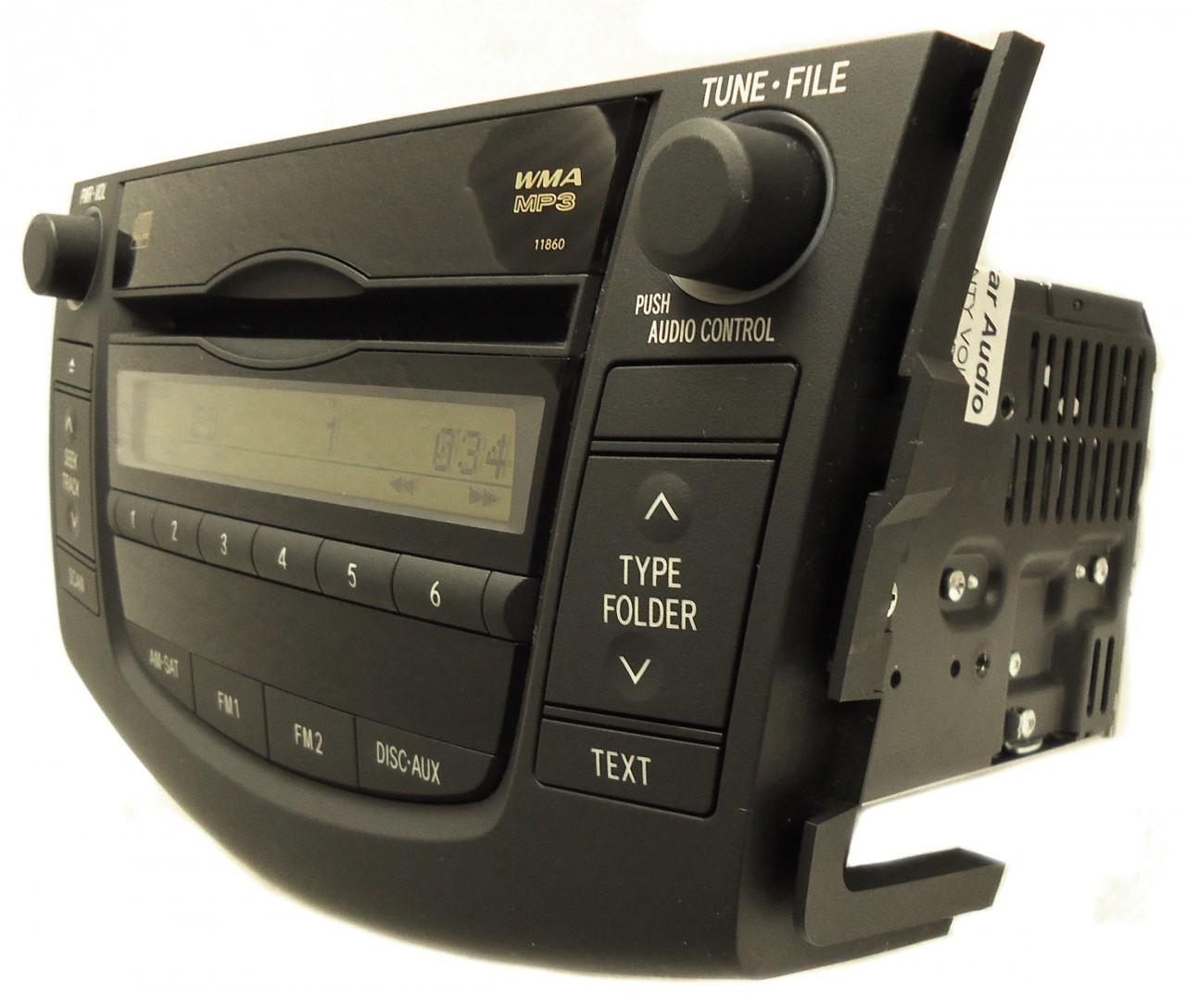 06 07 08 10 2011 Toyota Rav4 Satellite Radio Stereo Mp3 Player