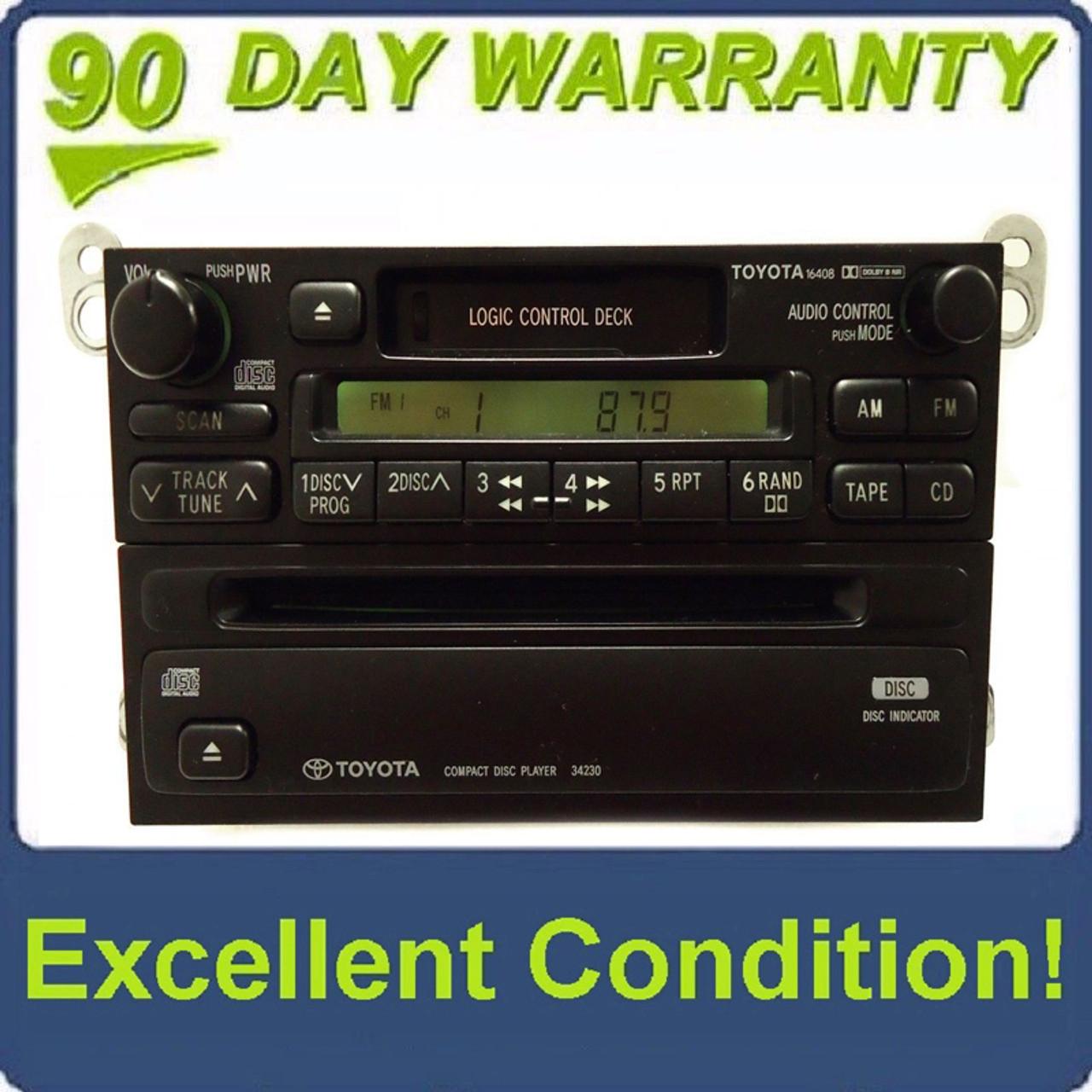 1999 toyota camry radio reset